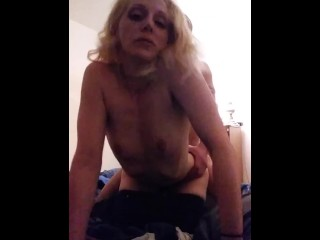 Gf gets fucked while others watch on video