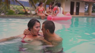 strangers catch me screwing in public pool and i make a monster squirt kathalina7777 – teen porn