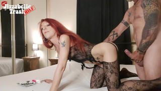 SMOKING Redhead MILF Doggy Style Fuck With Pussy Licking Cum Clean Up