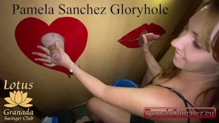Hot Wife Big Cock Blowjob To Strangers Swinger Club My First Amateur Gloryhole First Part 1/3