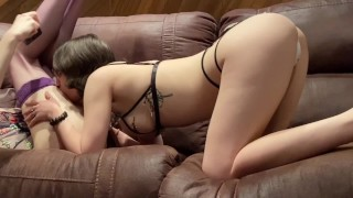 Mommy Has Her Boy Film Deep and Loving Pegging
