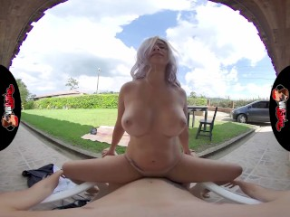 VRLatina – Stunning Big Ass Big Tit Babe Outdoor Fucking VR