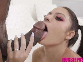 Cock Thirsty Melody Foxx Gets Fucked By Brickzilla