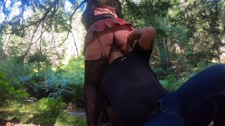 Teaser.. milf let's me tie her up in the woods, eat her out and fuck her..