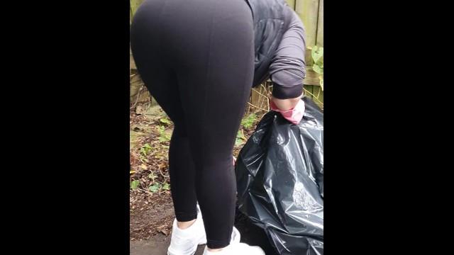 spodnie w pussy