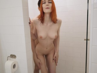 Redhead Fucks In Shower And Gets Facial