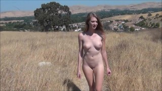 Clip Ashley Lane Naked in the Hills