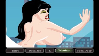 The boss fucks the secretary at lunchtime | cartoon porn games