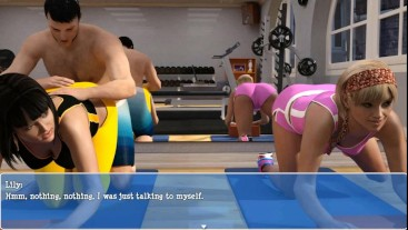 Cuckold H&Slutty W: Only If Her Husband Sees What His Wife Is Doing In The Gym-Ep 11