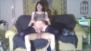 Sissy Kitty Fucked By A Mature Crossdresser