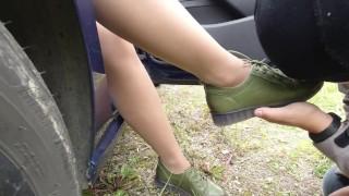 Couple Feet Slave