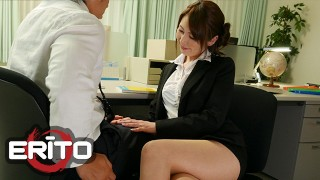 Erito - Asian Teacher Satomi gets fucked by students
