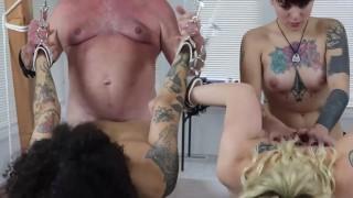 Amelia/Abby/Kingsley (DSC5-6) BDSM Bondage Threesome Blowjobs Girl/Girl Oral Doggystyle Toys