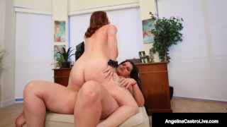 Doc BBW Angelina Castro Cures Curvy Maggie Green With Dick?
