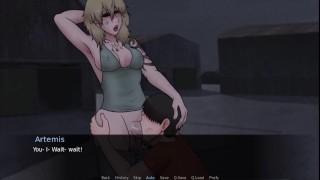 Throat Fucked By Artemis At The Harbor - Futadom World