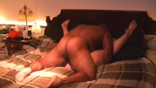Ramming my BBC balls deep into my sexy thick ass PAWG neighbor