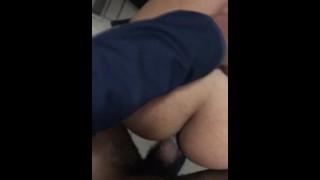 Latina Ex Girlfriend Cums Hard As She Gets Fucked in Public Bathroom