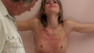 Candy's breast whipping 2109