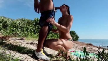 Riley Jacobs - Enjoying breakfast on the beach