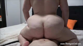 Brother and Pawg Step-Sister fuck together when no one is home