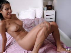 Step Daughter with Huge Tits and Horny Wife Want a Naughty Threesome - Maya Farrell and Cory Chase