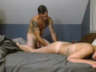 Wife getting fucked hard until she cant take it anymore. multiview 2 camera shoot.