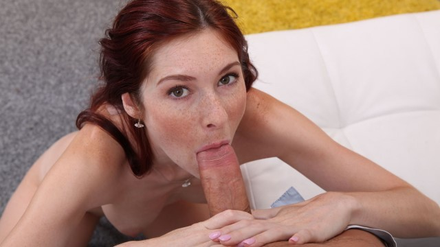 Hot Redhead Kattie Gold Loves Big Hard Cock