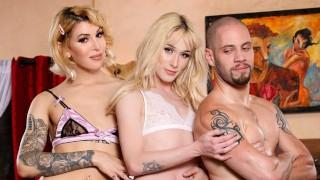 DevilsTGirls He Fucks Two Hot Trans Women For His Birthday
