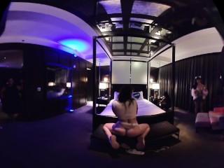 Twerking in Las Vegas VR 180 (equidistant 180 3D SIDE BY SIDE LR) TEST