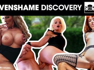 Four filthy sluts get their PUSSIES stuffed by random men! stevenshame.dating amature masterbation