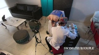 GYNO - DOCTOR - ANAL CHECK - MEDICAL EXAM EXAM - PROCTO - SWAMATEURCOUPLE