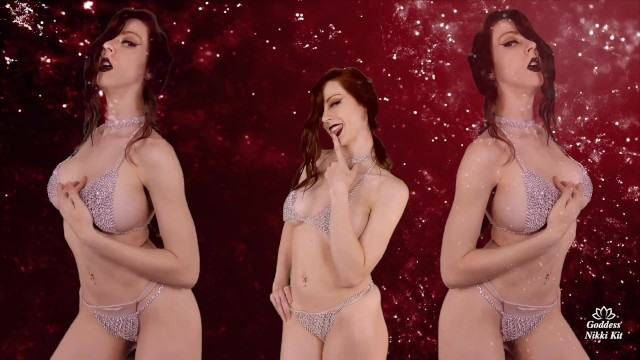 Stroke Slowly Edging Tease and Orgasm Denial Brainwash Mind Fuck by Gentle FemDom Goddess Nikki Kit