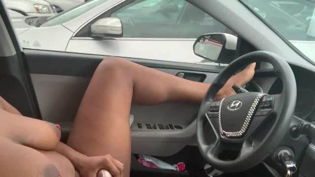 Mature Parking Lot Blowjob