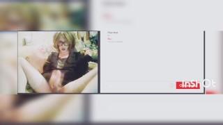 Hattabi4ik Cute Crossdresser In Video Chat Gold Rain And Cumshot (Self Pissing) Femboy Fetish