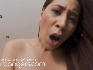 VR BANGERS Anime High School Girl Becomes Real To Make Your Cock Hard