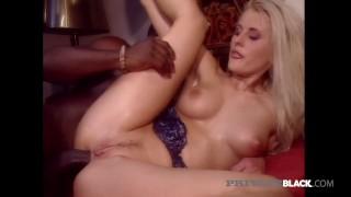 PrivateBlack - Hot Milky White Blonde Sandra Russo Gets BBC!
