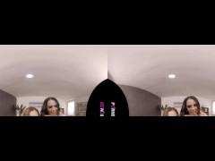 PORNBCN VR 4K | The hot teen Ginebra Bellucci in a lesbian and threesome virtual reality 180