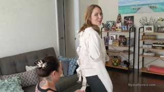 Straitjacket Escape Challenge with Princess Anna Lee