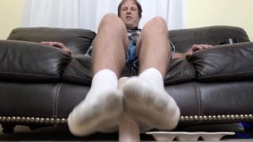 Plumber Gives A Dirty Sock Footjob JOI