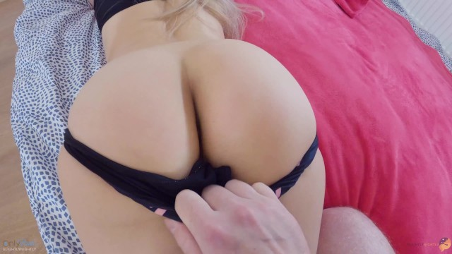 SLAP ME WITH YOUR DICK ON MY LIPS AND CUM IN MY TIGHT PUSSY, DADDY! - SLIGHTLYNIGHTLY