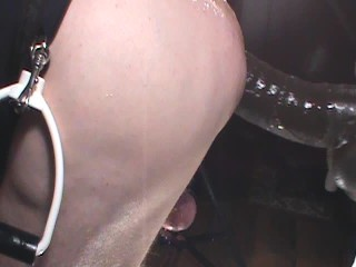 SUBMISSIVE HUSBAND- Wife Pegging with Huge Strapon