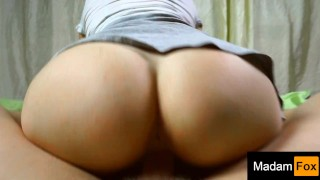 I love to jump my ass on a dick. MadamFox Anal