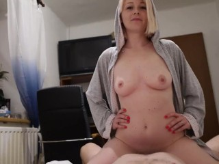 i cut his cock, made a blowjob and had a creampie in my pussy without pills (free