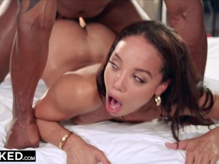 BLACKED College Alexis seduces her hubby