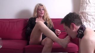 mature mistress train her younger friend