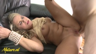 Blonde Mom Barra Brass Anal Pounded By Big Dick
