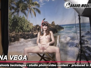 377 – Backstage from Bravo Models Media – studio – Cosplay content photoshoots – models Elena Vega