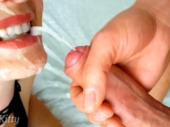 POURED CUM ON MY STEPSISTER'S FACE! SHE...