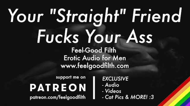 "Your Hot ""Straight"" Friend FINALLY Fucks Your Ass [PREVIEW] [GAY Dirty Talk] [Erotic Audio for Men]"