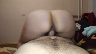 Big ass. Hairy pussy